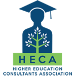 HECA logo and professional college guidance in Los Angeles, CA.